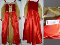 Disney Princess Belle (Beauty and the Beast) Fancy Dress/ Costume for 7-8 years. World Book Day..