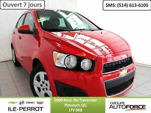 2014 CHEVROLET SONIC LS , BLUETOOTH, AUTO, A/C