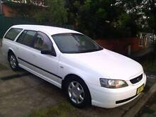 2003 automatic Ford Falcon Station Wagon. Sydney City Inner Sydney Preview