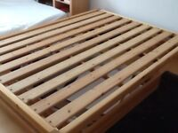 solid pine base,