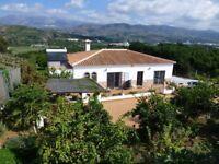 Beautiful Spanish villa available for short/ medium term rental in Velez Malaga