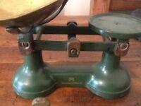 Fortnum & Mason Kitchen Scales with Weights