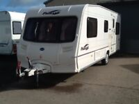2005 Bailey pageant vendee fixed end bed 4 berth