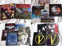 Vinyl records / Albums / Singles / Rock / Metal / Queen / Van Halen / Whitesnake / Magnum / Vow Wow