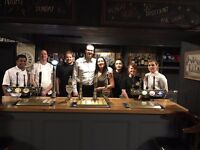 Bubbly assistant manager for nice country pub