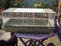 **LARGE INDOOR RABBIT & GUINEA PIG CAGE HUTCH- just right for your spring babies 🐰**