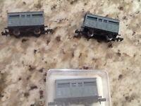 Model railway train ventilated truck