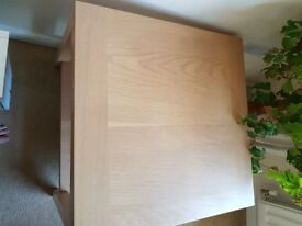 Heavy Wood Coffee Table