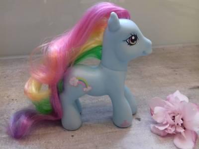 le Pony- Hasbro- 2003- Rainbow Dash/ Regenbogenblitz (Meine Kleine Regenbogen-pony)