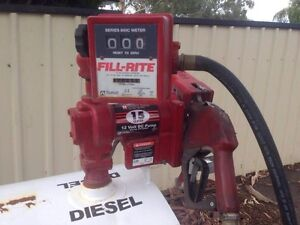 Diesel Tank with Pump Gawler Gawler Area Preview