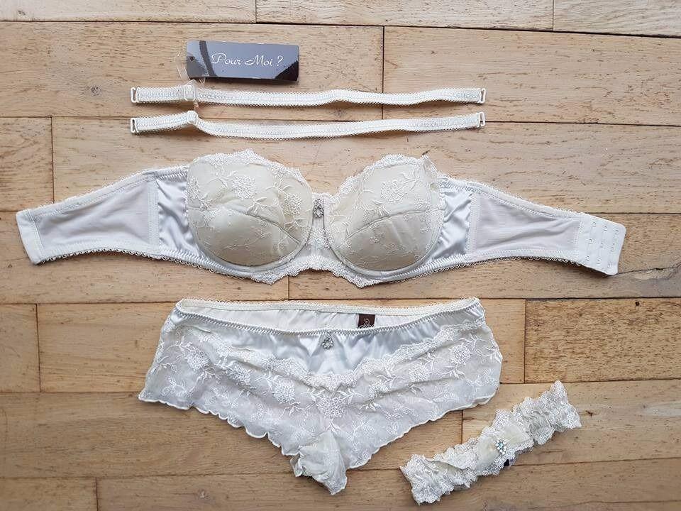 Ivory Wedding Lingerie - 32 C - Size 8