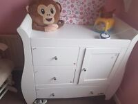 Tutti bambini changing unit (Katie collection) £70 ono