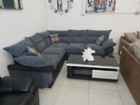 ON SALE LARGE CORNER SOFA STYLISH CHESTERFIELD DESIGN ON SALE ORDER NOW