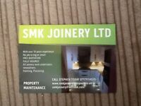 All joinery work undertaken