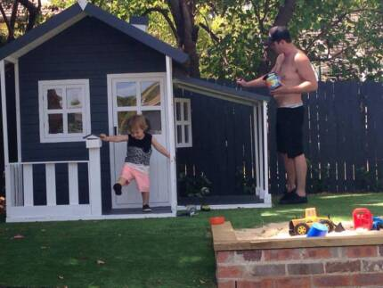 Tuff Cubbies (Melbourne) Grand Havana Timber Kids Cubby House Toy Maribyrnong Maribyrnong Area Preview