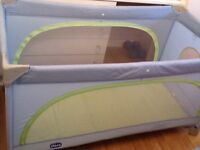 Travel cot for sale good condition with mattress