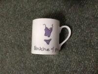 McLaggan Smith 'Thinking of you Naked' mug