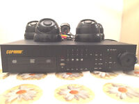 COP DVR Security System XT16 CCTV 16 Channel with 5 cameras