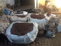 Dumpy Bags Red Top Soil x10