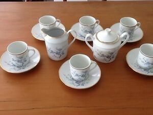 Royal Limoges Fine China Porcelain Coffee Set Earlwood Canterbury Area Preview