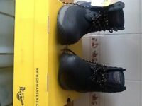Dr Martin work boots size 9