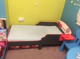 baby bed with mattress