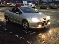 307CC CONVERTIBLE 2007 PEUGEOT 307CC 1.6 CONVERTIBLE 2DR FULL YEARS MOT,DRIVES AMAZING,BARGAIN BUY.