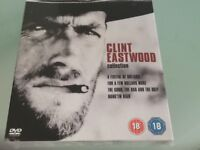 Clinton Eastwood collection of 4 ...never been opened ..