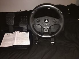 PlayStation 3 and 4 steering wheel
