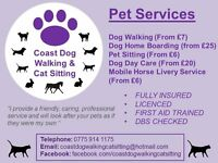 Dog Walker/Home Boarder/Pet Sitter/Pet Taxi