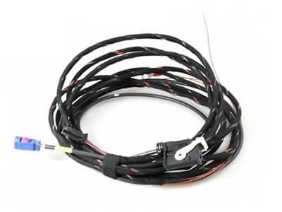 Vw Touran Tiguan Wiring Loom Harness Cable Set Adapter Rfk Rear View Camera Low