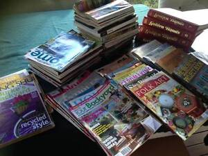large craft / home books and magazine pack Wongawallan Gold Coast North Preview