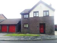 4 BEDROOM DETACHED - DOUBLE INTEGRAL GARAGE - FORMER SHOW HOUSE - £995.00 Per Calender Month