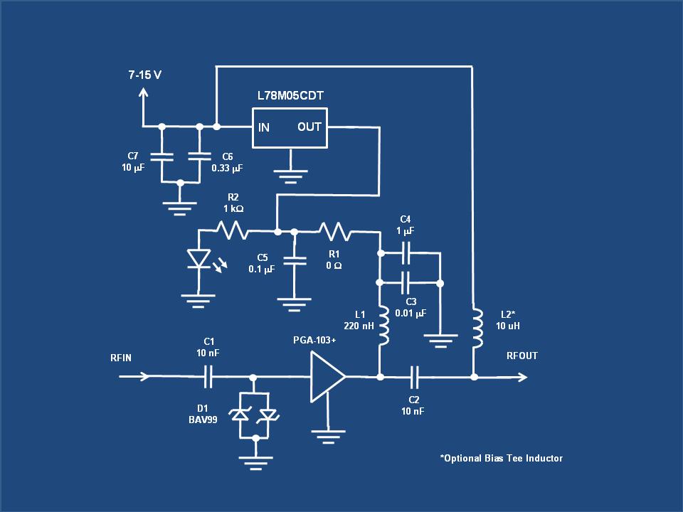 0.1-2000MHz 30dB Low Noise RF Amplifier LNA Broadband Module Receiver I3Z3