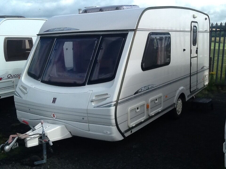 b6417713d348e6 2000 abbey GTS vogue 217 2 berth end changing room with awning ...