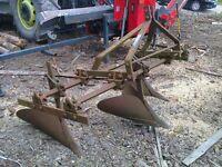 Nuffield Potato Ridger Plough - Leyland