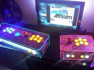 The Retropie Arcade - Made by hand in Canada - HDMI to any TV - Home Arcade