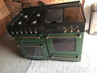Rangemaster Gas cooker for sale, very good condition, 2 ovens, 4 gas burners, hot plate