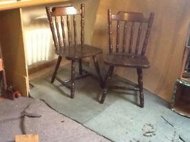 Dining room chairs/kitchen