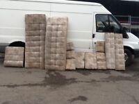 Full set of foam cushions out of 4 berth caravan excellent cond