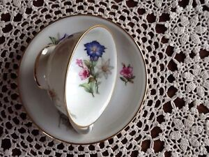 Vintage German fine bone china cup and saucer Lake Haven Wyong Area Preview