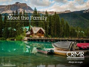 $1500 Canadian Rocky Mountain Resorts Giftcard