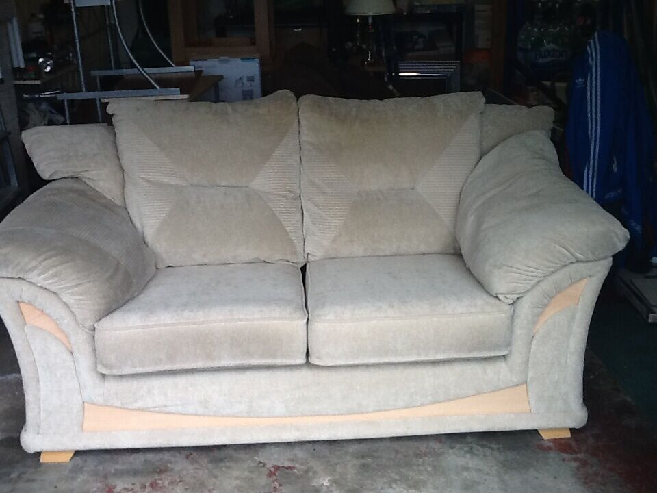 TWO SEATER BEIGE FABRIC SOFASETTEE in Lower Earley  : 86 from www.gumtree.com size 960 x 720 jpeg 74kB