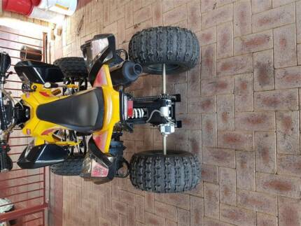 quad bike in great condition