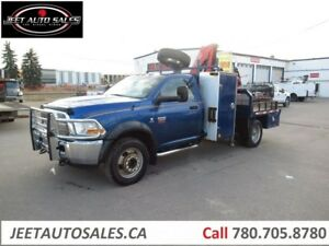 2011 Dodge Ram 4500 SLT Picker Crane