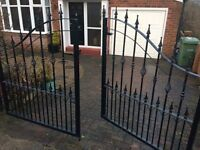 Wrought Iron gates for drive way