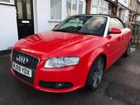 Audi A4 Cabriolet Final Edition S-Line 2.0 TDI 2009 - Misano Red