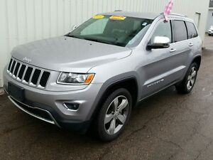 2015 Jeep Grand Cherokee Limited NEW MVI/ HEATED LEATHER SEAT...