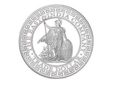 1 Pound Pfund Silver British Trade Dollar Britannia St. Helena 1 oz Silber 2018  (Silber Pfund)