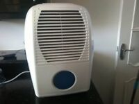 dehumidifier 10l used twice mint condition